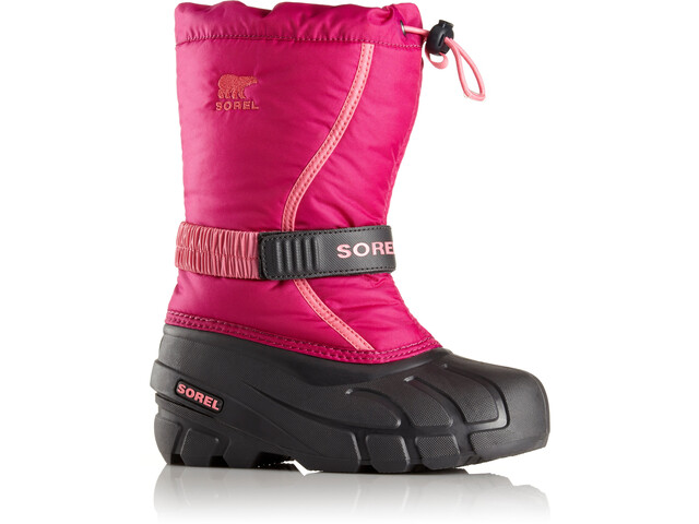 Sorel Kids Flurry Boots Deep Blush Tropic Pink - addnature.com af96fbde07